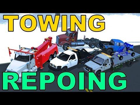 Farming Simulator 17   Towing & Repoing   Raptor   DayCab   Kart   Juguar   Flatbed