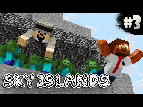 OÄNDLIGT MED ZOMBIES! | Sky Islands - #3