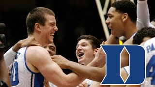 Coach K & Marshall Plumlee Remember Plumlee's Only 3 Pointer