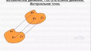 Механика  Механическое движение  Материальная точка  Урок 1