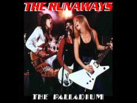 The Runaways - Wasted, Live At Pallidium 1978