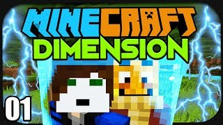 Wir sind GEFANGEN in einer Minecraft Barriere! ☆ Minecraft: Dimension