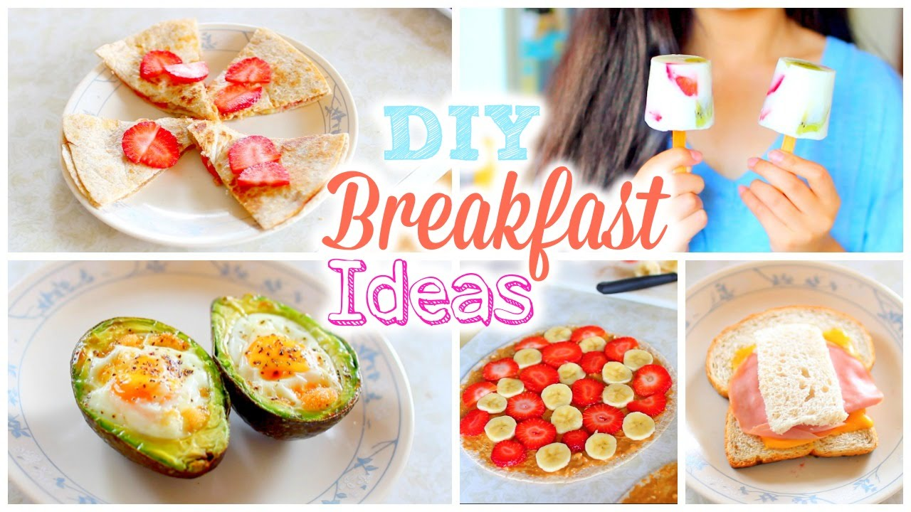 Yummy easy healthy breakfast recipes