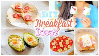 DIY Easy and Quick Back to School Breakfast Ideas | Healthy Breakfast Recipes
