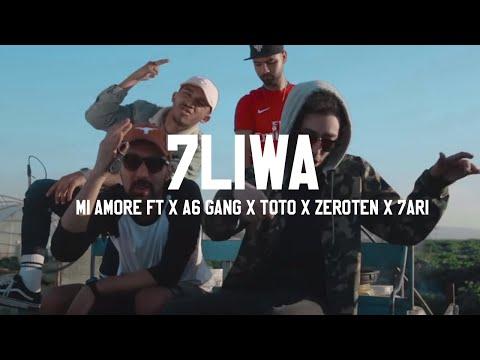 7LIWA - MI AMORE ft X A6 GANG X TOTO X ZEROTEN X 7ARI [Clip Officiel] #WF7