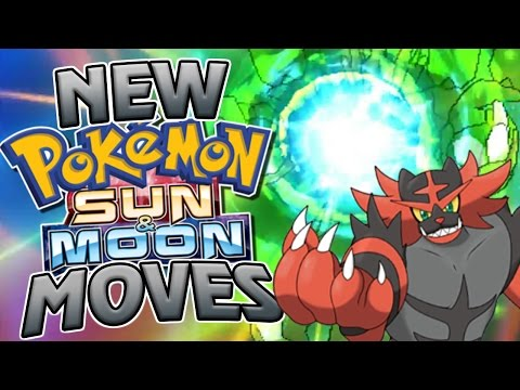EVERY NEW POKEMON SUN AND MOON MOVE! Animations + Descriptions!
