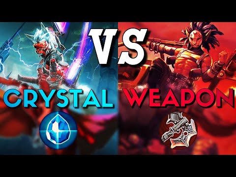 Vainglory WEAPON Build Taka Vs CRYSTAL Build Taka - Which IS Better?!