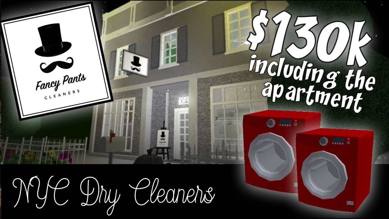 Roblox Bloxburg   Swanky NYC Dry Cleaners + Apartment ...