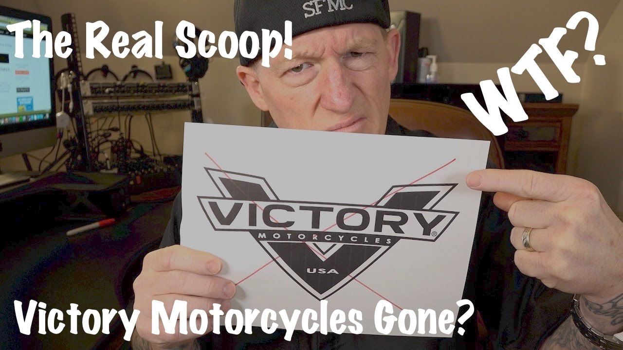 Victory Motorcycles Polaris Shutting Down No More Production Youtube