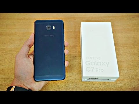 Samsung Galaxy C7 Pro - Unboxing & First Look! (4K)
