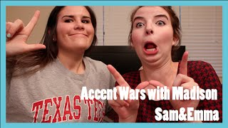 ACCENTS: Wisconsin vs Texas (Feat. Madison!)
