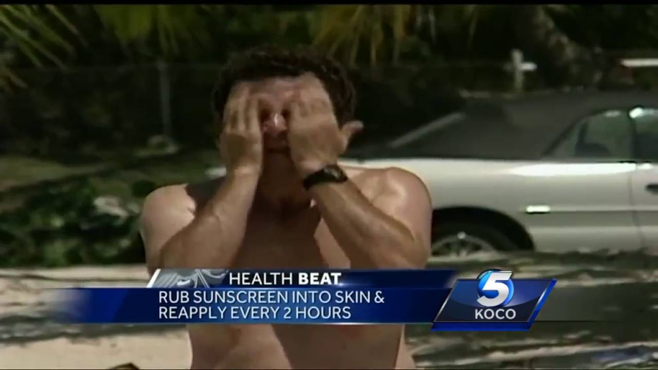 Tips for staying safe in the sun with sunscreen - YouTube