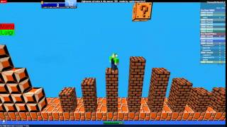 Roblox letsplay Super Mario Bros NES