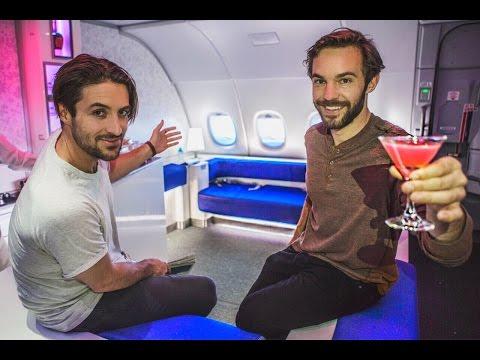 VIP LUXURY BAR | BIGGEST AIRPLANE IN THE WORLD