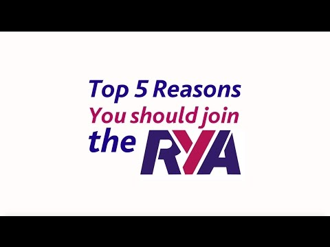The Top 5 Reasons you should join the RYA - National Governing Body for Boating - About Membership