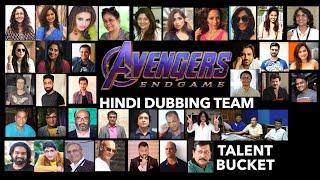 Avengers Endgame Hindi Dubbing Team   Writer   Director