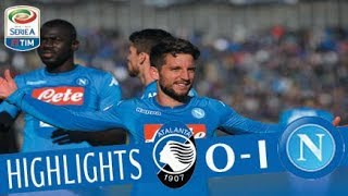 Atalanta - Napoli 0-1 - Highlights - Giornata 21 - Serie A TIM 2017/18