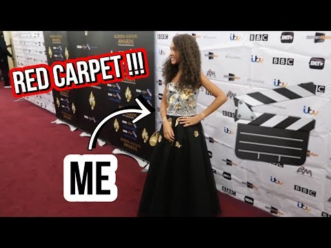 MY FIRST RED CARPET EXPERIENCE | Screen Nation Awards 2018 | Inspiring Vanessa