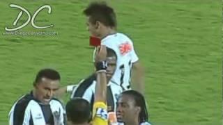 NEYMAR Red Card - Cartão Vermelho (Atlético Mineiro x Santos)