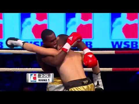 81kg Hrvoje SEP (Astana Arlans Kazakhstan) vs Julio Cesar LA CRUZ (Domadores de Cuba)