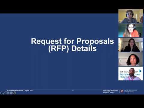 BIDMC Community-based Health Initiative RFP Information Session