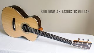 Building An Acoustic Guitar Full Montage