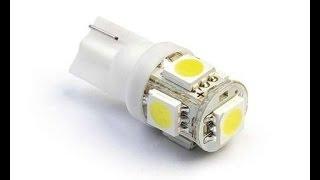 Ремонт и доработка светодиодной LED ламп T10