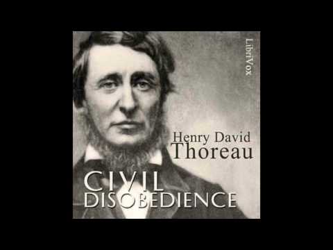 Civil Disobedience by Henry David Thoreau #audiobook