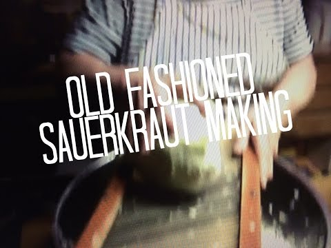 Sauerkraut Making Recipe in Crock, Probiotics, Health, 1 of 4, Fast Easy