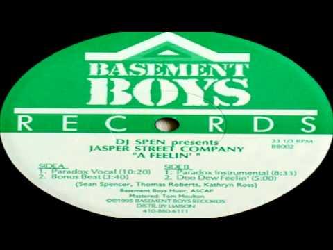 "DJ Spen Presents Jasper Street Company - ""A Feelin""  (Paradox Vocal)"