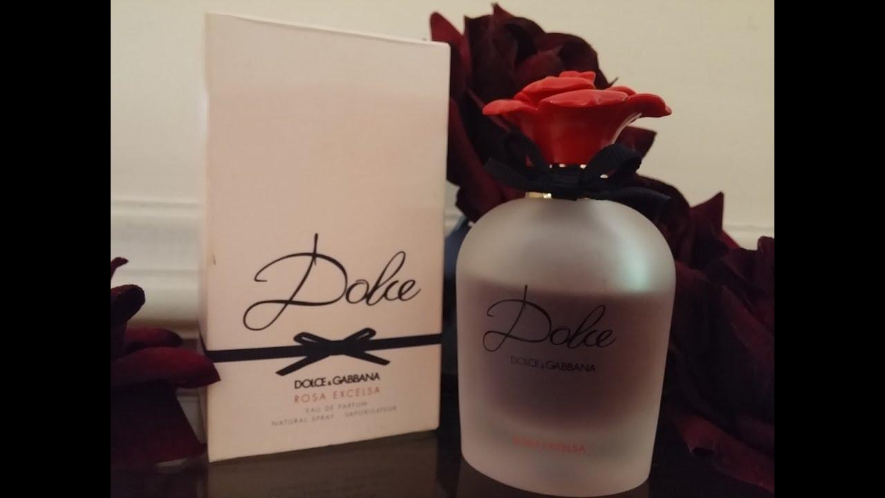 4a3e8ef7caa3d Perfume Dolce Rosa Excelsa EDP de Dolce Gabanna - YouTube