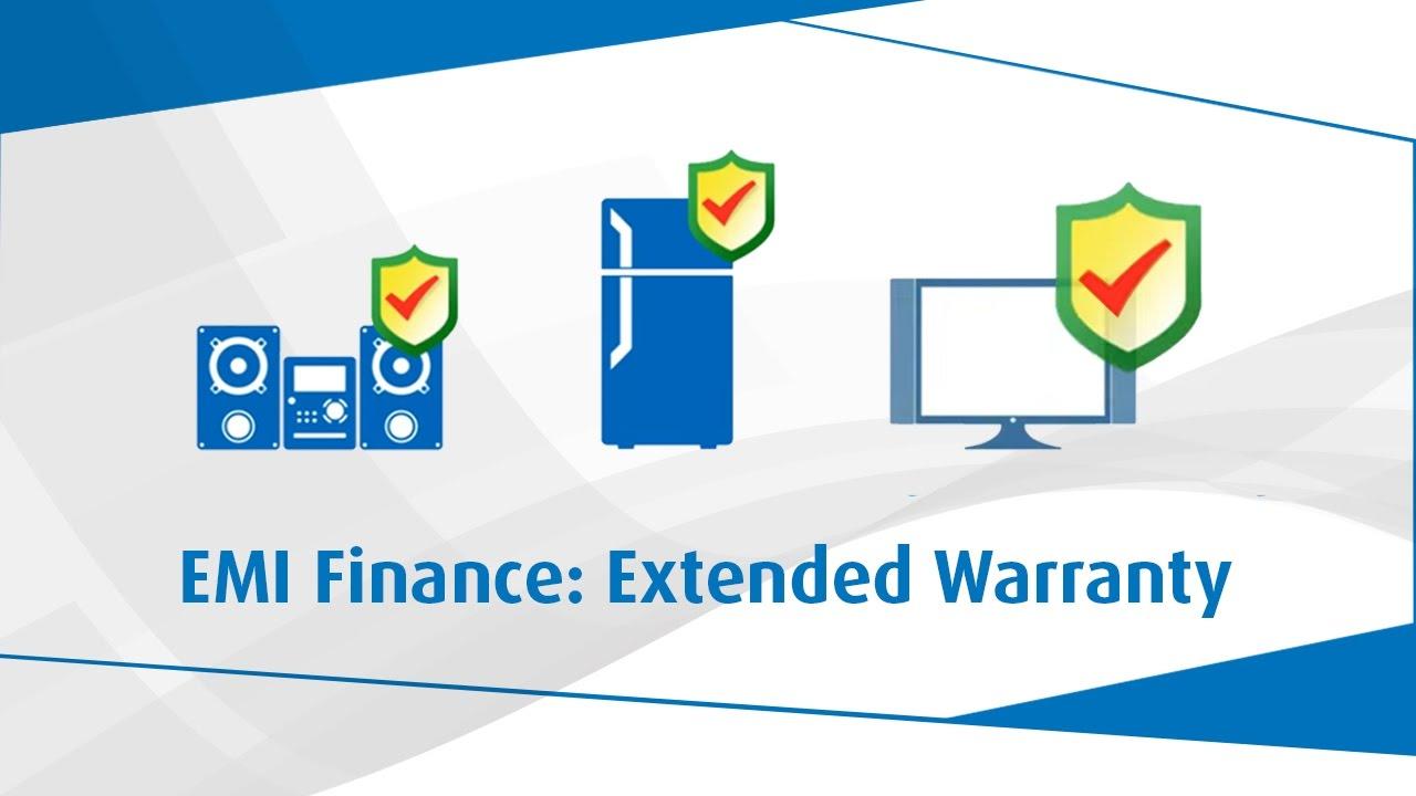 Extended Warranty on TV, LED, Washing Machine, Refrigerator