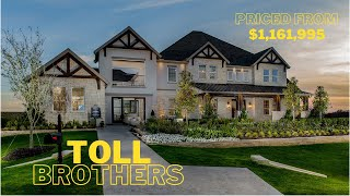 Toll Brothers Model Home - Dallas - Fort Worth House Tour