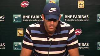 BNP Paribas Open: Juan Martin del Potro Press Conference