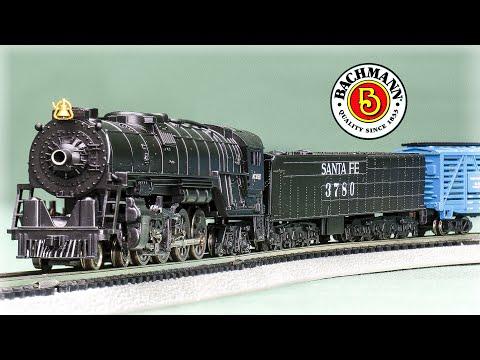 Bachmann N-Scale Empire Builder Model Train Set Review