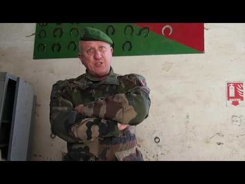 LEGION ETRANGERE : Danilo Pagliaro speaks about training and missions in the Foreign Legion