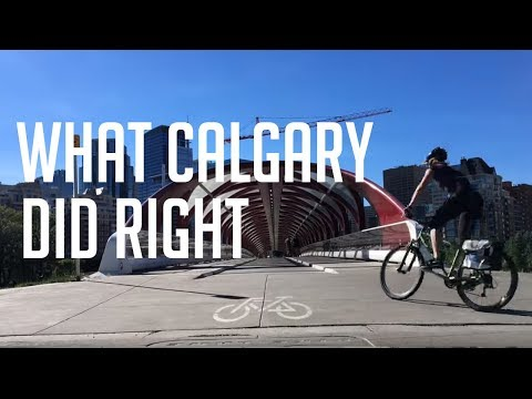 How Calgary, Alberta did urban cycling right