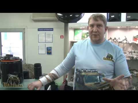 UAZOBAZA # 18 Вывод сапунов & шноркель на УАЗ - для экстремальных условий