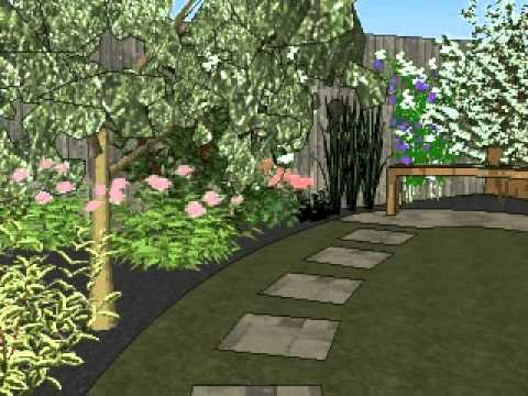 Programa Dise O De Jardines 3d Gratis Sketchup Casa Dise O