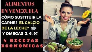 Cómo Reemplazar La Proteína De La Carne Animal Nutrición Vegana 4 Recetas Veganas Youtube