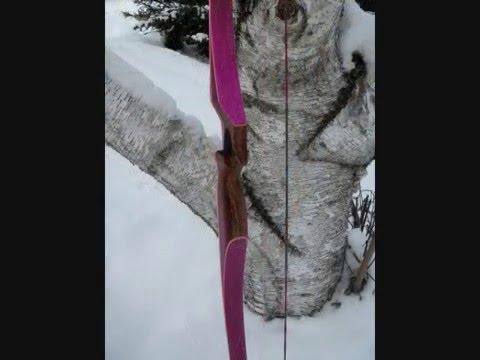 64 Inch Pink Longbow  wmv