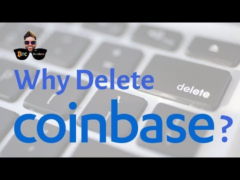 Why You Should #DeleteCoinbase