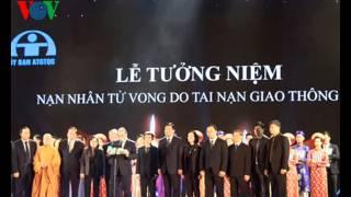 (GTS - Tuyên giáo) Thông điệp Tưởng niệm các nạn nhân tử vong do tai nạn giao thông năm 2015
