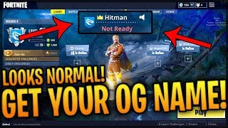How To Get An OG Name On Fortnite Without It Looking Werid! Russian Alphabet! Fortnite! (2018)