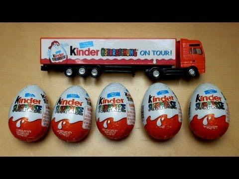 Kinder Surpise Eggs & Truck