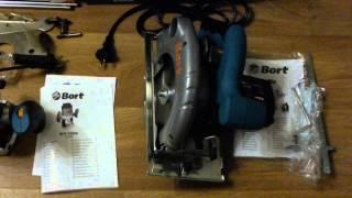 Купил инструмент для столярной мастерской.(Рубанок BORT BFB-850-T Фрезер BORT BOF-1080N Пила циркулярная BORT BHK-185U., 2015-01-12T20:04:58.000Z)