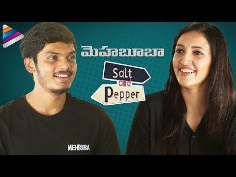 Akash Puri and Neha Shetty SALT & PEPPER Interview   Mehbooba Movie   Puri Jagannadh   Charmi