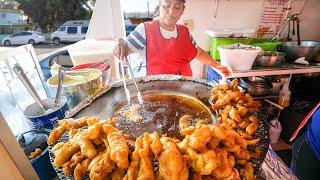 The Original Fish Tacos 🐟 🌮 !! MEXICAN STREET FOOD in Ensenada, Mexico!! 🇲🇽