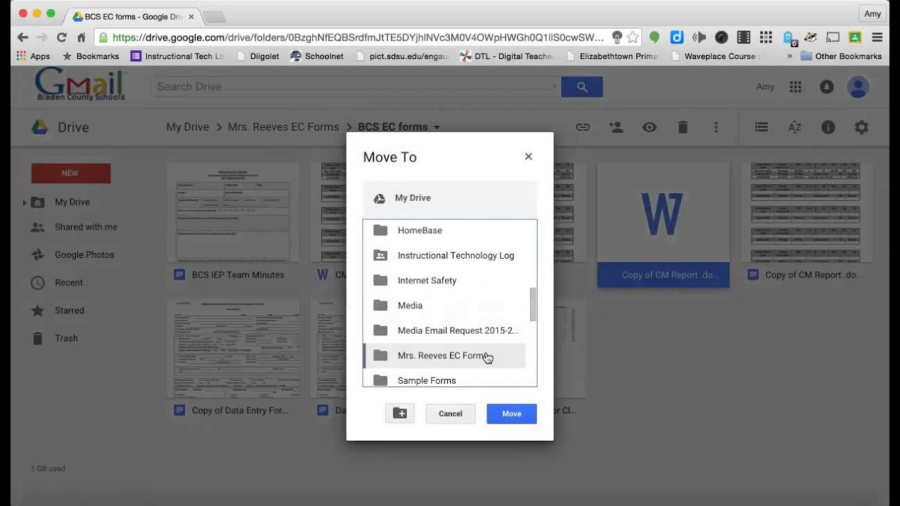 Google Drive: Creating a Copy of Files as Templates - YouTube