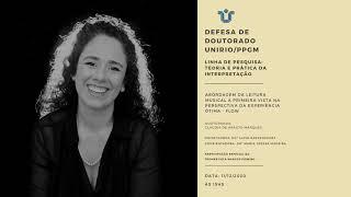 CLÁUDIA MARQUES   Recital de Doutorado